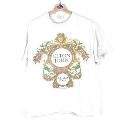 90's Elton John World Tour Band Tee - L