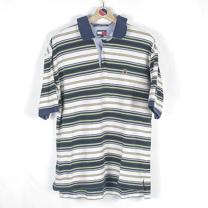 90's Tommy Hilfiger Crest Polo - XL