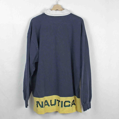 Vintage Nautica Performance Rugby - XL