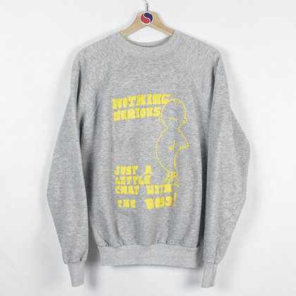 Vintage Nothing Serious Funny Crewneck - XL (M)