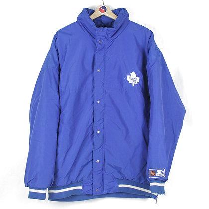 90's Toronto Maple Leafs Starter Jacket - XL