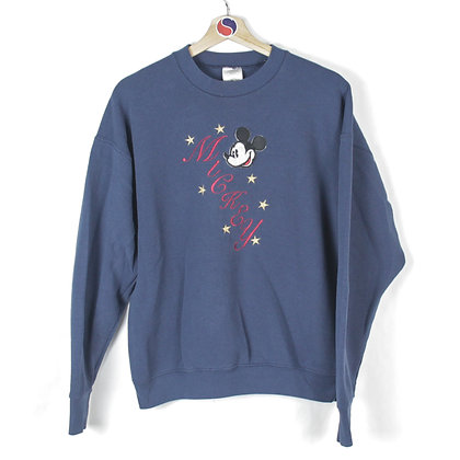 90's Mickey Mouse Crewneck - L