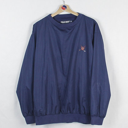 Vintage Polo Golf Pullover Windbreaker - M