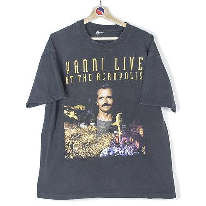 1995 Yanni World Tour Band Tee - XXL