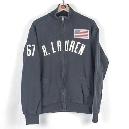 Ralph Lauren Zip Sweatshirt - L