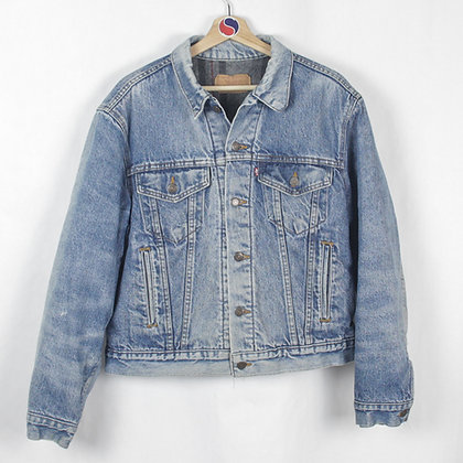 90's Lined Levi's Denim Jacket - S
