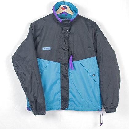 Women's 90's Columbia Fleece Lined Windbreaker - M (S)