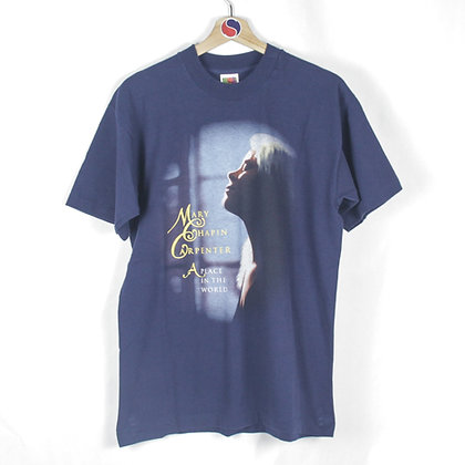 1997 Mary Chapin Carpenter A Place In The World Tour Tee - L