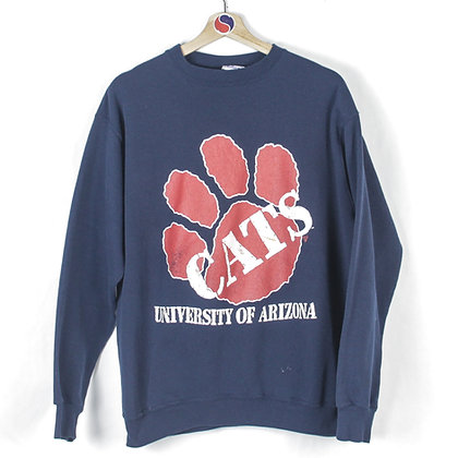 90's University Of Arizona Crewneck - XL
