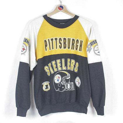 80's Pittsburgh Steelers Crewneck - L (M)