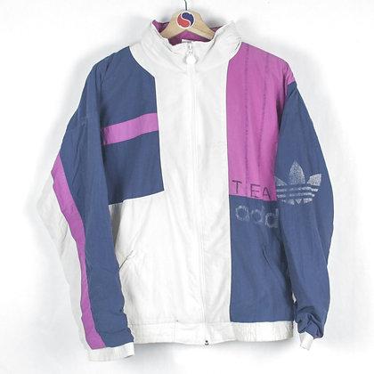 80's Adidas Team Windbreaker - L