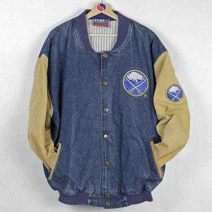 Vintage Buffalo Sabres Denim Jacket - XL