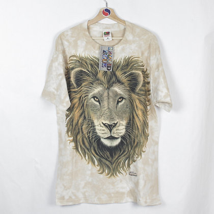 2000's Deadstock Liquid Blue Lion Tee - L