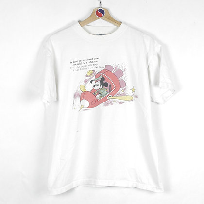 90's Mickey Mouse Tee - M