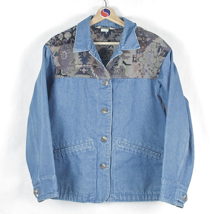 90's Women's L.L.Bean Denim Jacket - S