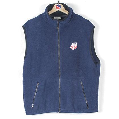2000's USA Ski Team Fleece Vest - L