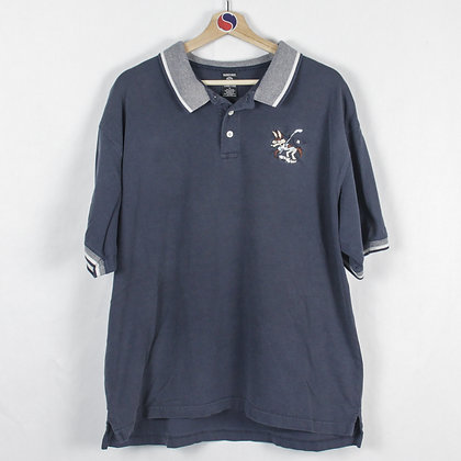 Vintage 1997 Wille Coyote Polo - XL