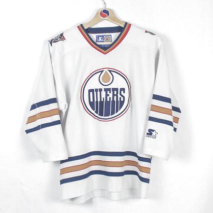 Women's 90's Edmonton Oilers Starter Jersey - M