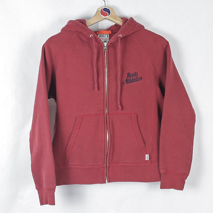 2000's Women's Roots Athletics Zip Hoodie - L (M)