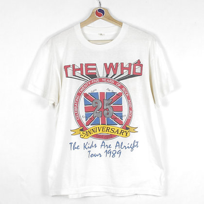 1989 The Who The Kids Are Alright Tour Band Tee - XL (M)