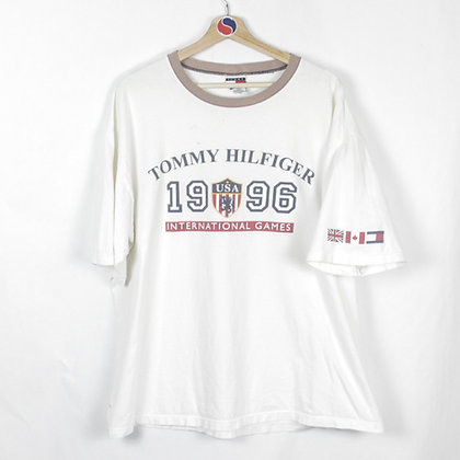 1996 Tommy Hilfiger International Games Tee - XL