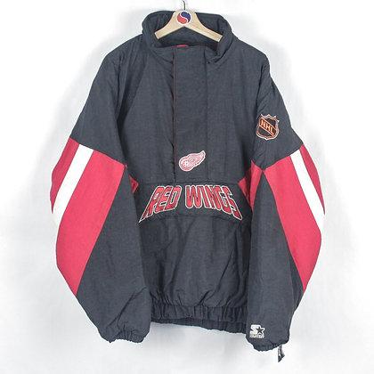 90's Detroit Red Wings Starter Jacket - XXL