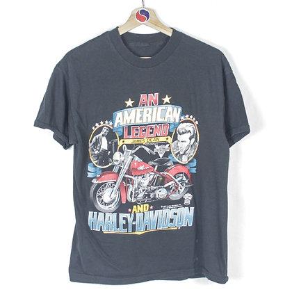 1987 James Dean Harley Davidson Tee - S