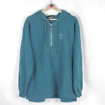 90's Adidas Hoodie - L
