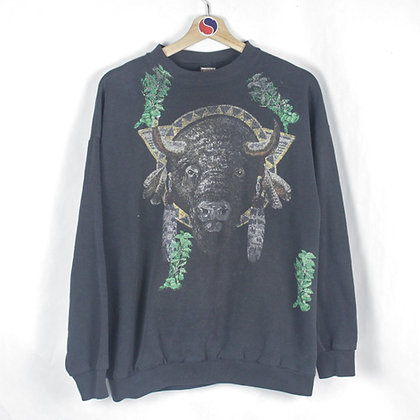 90's Bison Crewneck - XL (L)