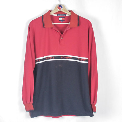 90's Tommy Hilfiger Rugby - M