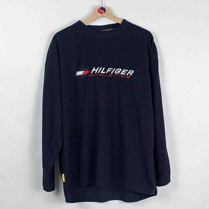 Vintage Tommy Hilfiger Athletics Fleece - L