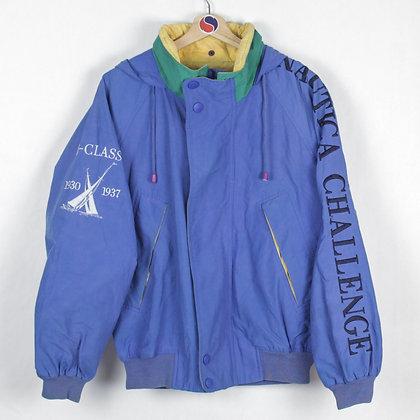 90's Nautica Challenge J-Class Light Jacket - M