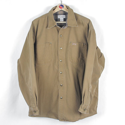 Lined Carhartt Button Down - L