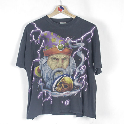90's Wizard American Thunder Tee - L (S)