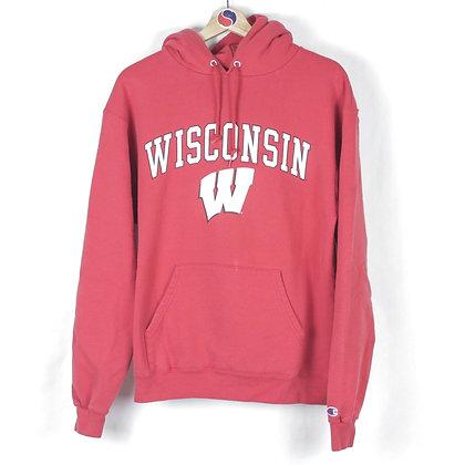 Wisconsin Champion Hoodie - M