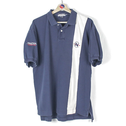 90's Nautica Competition Polo - XL