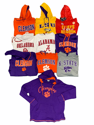New With Tags NCAA College Varsity University 10 Item Wholesale Bundle Lot