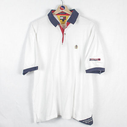 Vintage Tommy Hilfiger Sailing Gear Polo - XL (L)