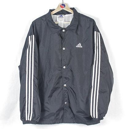 90's Adidas Snap Windbreaker - M (L)