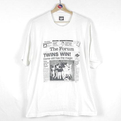 90's Twins Win Tee - XXL