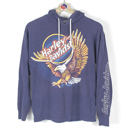 90's Harley Davidson For Bikers Only Light Hoodie - XS