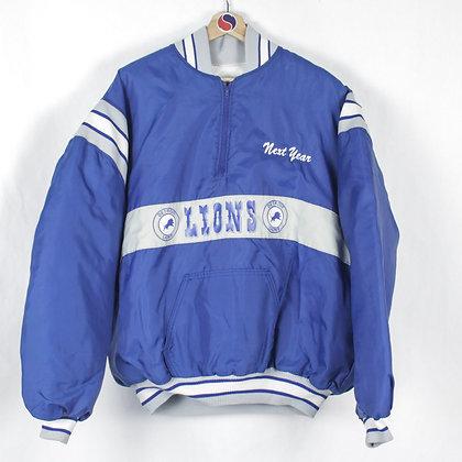 90's Detroit Lions Pullover Jacket - XXL (XL)