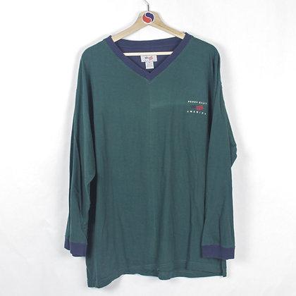90's Perry Ellis Long Sleeve - XL