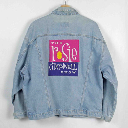 Vintage The Rosie O'Donnell Show Denim Jacket - L