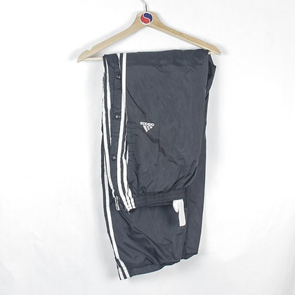 90's Adidas Snap Track Pants - XXL (36-38)