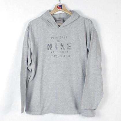 2000's Nike Long Sleeve Tee Hoodie - M (S)
