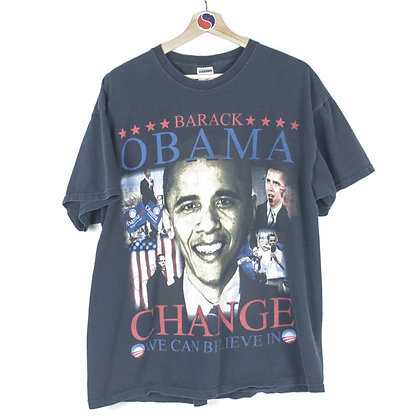 Barack Obama Change We Can Believe In Tee - XXL