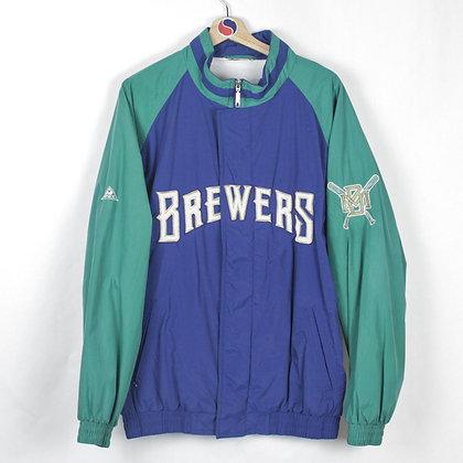 Milwaukee Brewers Windbreaker - XL