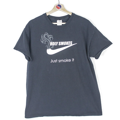 2000's Just Smoke It Tee - L
