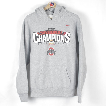 2002 Ohio State Buckeyes National Champions Nike Hoodie - XL (L)